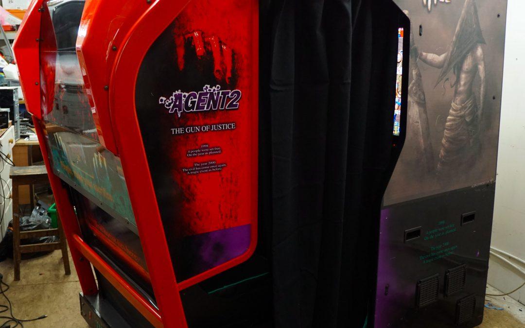 2 Player Sit-in Immersive Multigame Arcade Gaming Machine + Arcade Gun Games