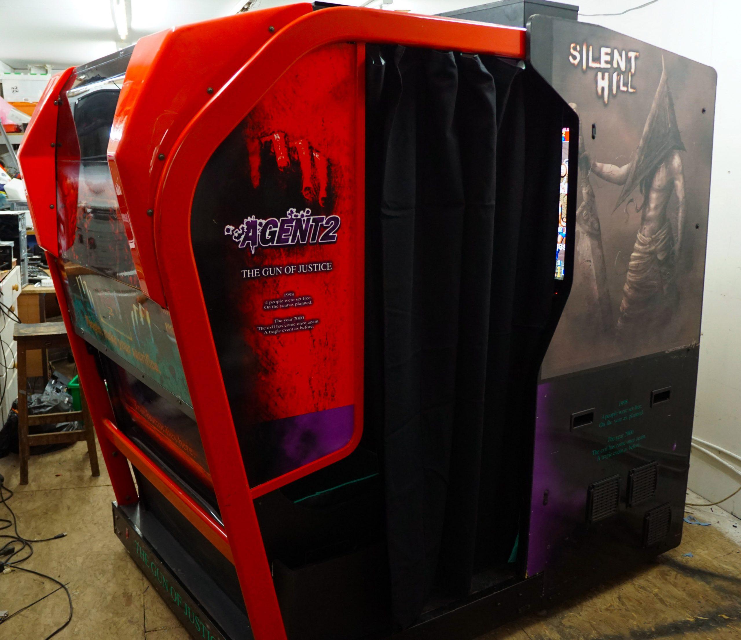 2 Player Sit In Immersive Multigame Arcade Gaming Machine Arcade