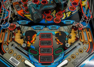 retro leisure demolition man pinball repair