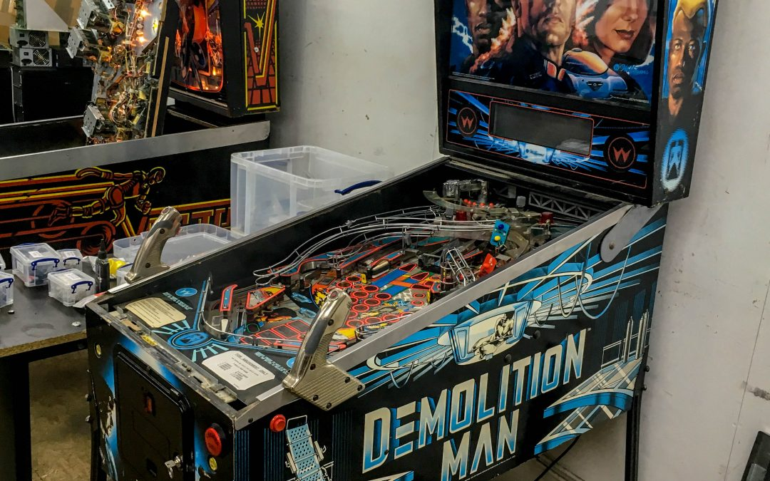 Williams Demolition Man Pinball